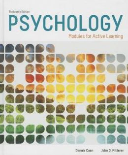 Psychology: Modules for Active Learning