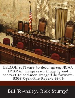 DECCON software to decompress NOAA IMGMAP compressed imagery and convert to common image file formats: USGS Open-File Report 96-19