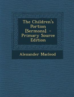Children's Portion [Sermons].
