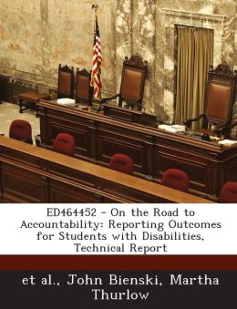 ED464452 - On the Road to Accountability: Reporting Outcomes for Students with Disabilities, Technical Report