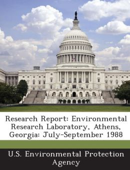 Research Report: Environmental Research Laboratory, Athens, Georgia: July-September 1988