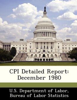 CPI Detailed Report: December 1980