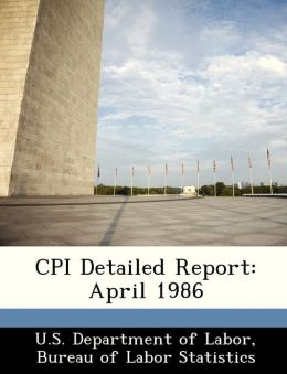 CPI Detailed Report: April 1986
