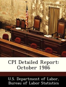 CPI Detailed Report: October 1986