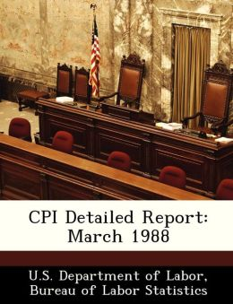 CPI Detailed Report: March 1988
