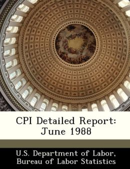 CPI Detailed Report: June 1988