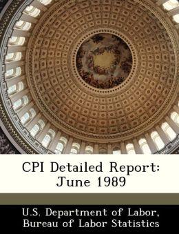 CPI Detailed Report: June 1989