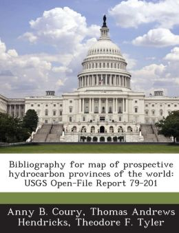 Bibliography for map of prospective hydrocarbon provinces of the world: USGS Open-File Report 79-201