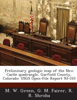 Preliminary Geologic Map of the New Castle Quadrangle, Garfield County, Colorado: Usgs Open-File Report 93-310