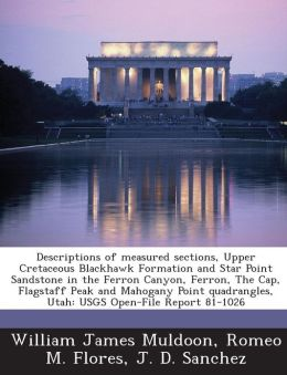 Descriptions of Measured Sections, Upper Cretaceous Blackhawk Formation and Star Point Sandstone in the Ferron Canyon, Ferron, the Cap, Flagstaff Peak