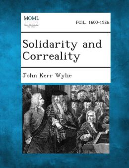 Solidarity and Correality
