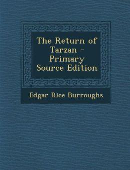 Return of Tarzan