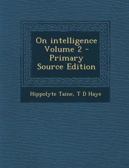 On Intelligence Volume 2