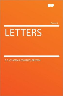 Letters Volume 2