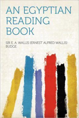 An Egyptian Reading Book