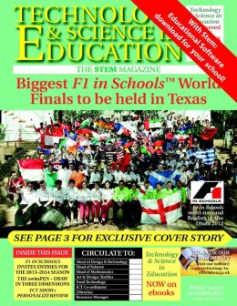 Technology and Science in Education Magazine: Biggest F1 in Schools World Finals to be held in Texas Draw in Three Dimensions TCT Show