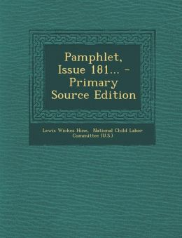 Pamphlet, Issue 181... - Primary Source Edition