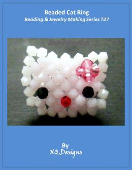 Beaded Cat Ring Beading & Jewelry Making Series T27