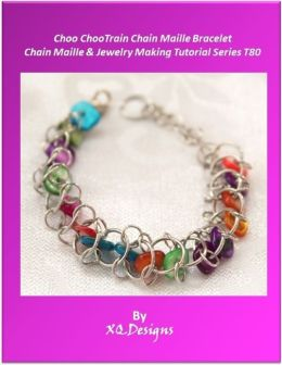 Choo ChooTrain Chain Maille Bracelet: Chain Maille & Jewelry Making Tutorial Series T80