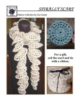 Spirally Scarf - Crochet Pattern for Ruffled Scarf