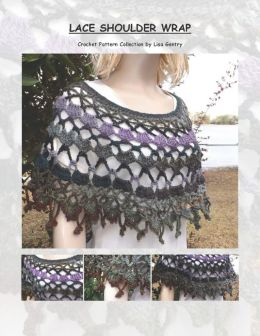 Lace Shoulder Wrap - Crochet Pattern