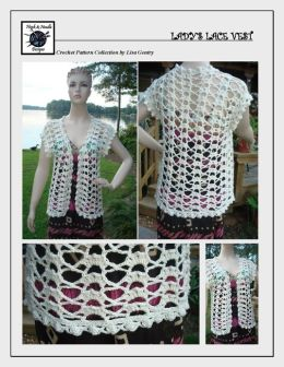 Lady's Lace Vest - Crochet Pattern