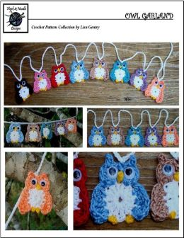 Owl Garland - Crochet Pattern