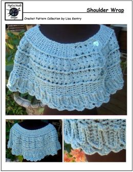 Shoulder Wrap - Crochet Pattern