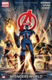 Book Cover Image. Title: Avengers Volume 1:  Avengers World, Author: Jonathan Hickman