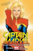 Book Cover Image. Title: Captain Marvel Volume 1:  Higher, Further, Faster, More, Author: Kelly Sue Deconnick