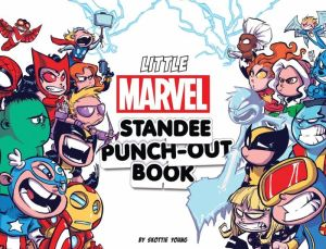 Little Marvel Standee Punch-Out Book