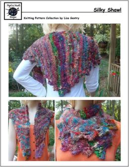 Silky Shawl - Knitting Pattern