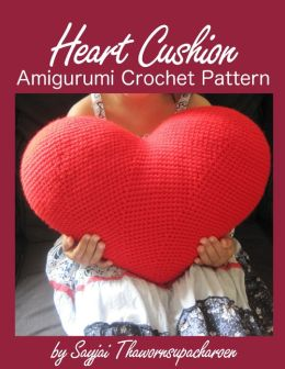 Amigurumi Heart Pillow : Heart Cushion Amigurumi Crochet Pattern by Sayjai ...