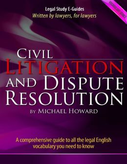 Civil Litigation and Dispute Resolution - Vocabulary Series
