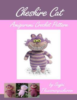 Cheshire Cat Amigurumi Pattern : Cheshire Cat Amigurumi Crochet Pattern by Sayjai ...