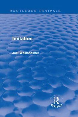 Imitation (Routledge Revivals)