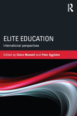 Elite Education: International perspectives