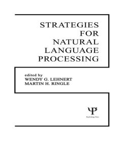 Strategies for Natural Language Processing