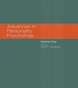 Advances in Personality Psychology: Volume 1