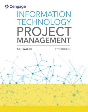 Book Information Technology Project Management / Edition 9