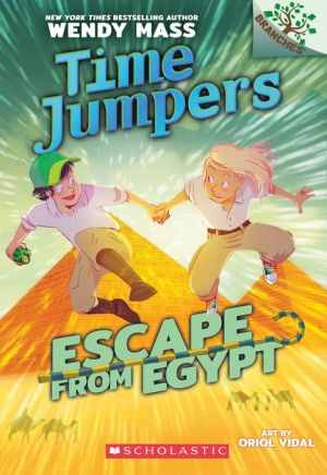 Escape from Egypt: A Branches Book (Time Jumpers #2)