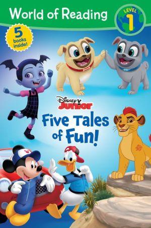 World of Reading: Disney Junior Five Tales of Fun! (Level 1 Reader Bindup)