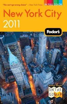Fodor's New York City 2011