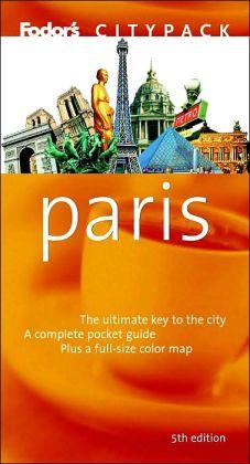 Fodor's Citypack Paris