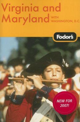 Fodor's Virginia and Maryland