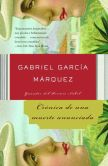 Book Cover Image. Title: Cr�nica de una muerte anunciada (Chronicle of a Death Foretold), Author: Gabriel Garcia Marquez