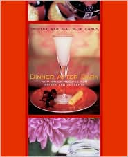 Dinner after Dark Signature Vertical Note Cards