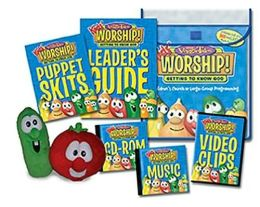 VeggieTales Kids' Worship! Getting to Know God: For Children's Church or Large-Group Programming