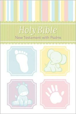 Baby Bible New Testament with Psalms - White