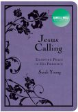 Book Cover Image. Title: Jesus Calling:  Enjoying Peace in His Presence (Deluxe Purple Black) (B&N Exclusive Edition), Author: Sarah Young